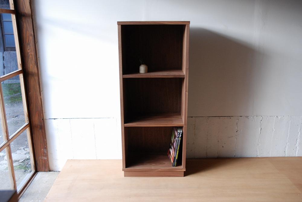 ウォールナット無垢材の本棚 固定棚と可動棚 幅50cm c5031イメージ-6
