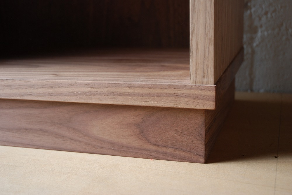 ウォールナット無垢材の本棚 固定棚と可動棚 幅50cm c5031イメージ-8