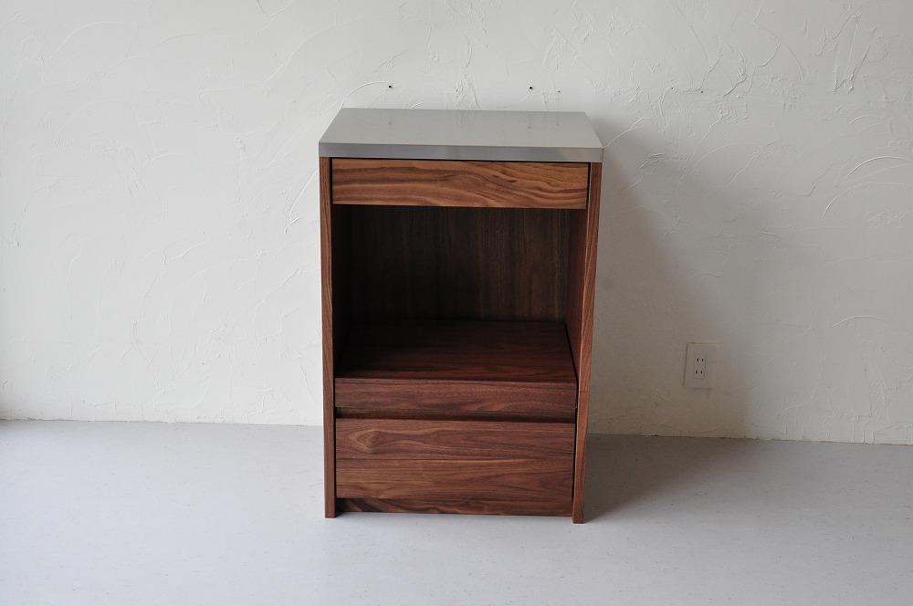 小さめのレンジ台兼食器棚 5102