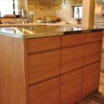 L型キッチンの中央に置くアイランドカウンター 5104